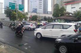 Ada Kecelakaan, Jalan Layang Stasiun Karet Arah ke Tanah Abang Ditutup