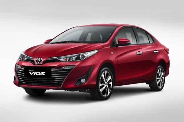 New Toyota Vios.  - Toyota