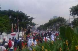 Demonstrasi Sukmawati, Pendemo Kumandangkan Adzan di Bareskrim