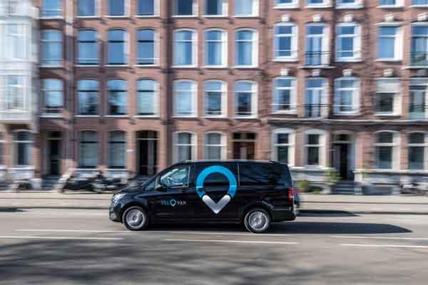 ViaVan di Kota Amsterdam.  - Mercedes/Benz
