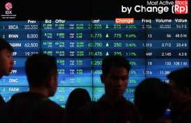 Asing Catat Net Sell Rp120,81 Miliar
