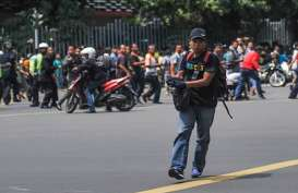 Syuting Film Tragedi Bom Sarinah, Arus Lalu Lintas Menuju MH Thamrin Dialihkan