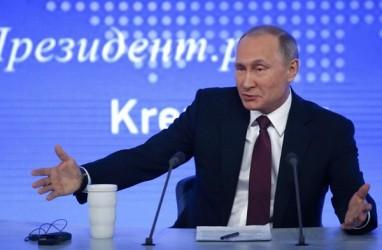 Putin Telepon Macron Peringatkan Soal Serangan Suriah