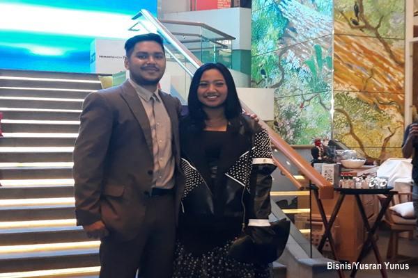 Abdul dan Maria, 2 Finalis Indonesian Idol season 9 tahun 2017/2018. - Bisnis/Yusran Yunus