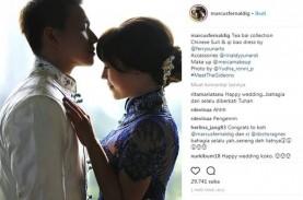 Video dan Foto Pernikahan Marcus Fernaldi Gideon dan…