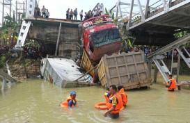 Jembatan Babat-Widang Ambruk, Jembatan Darurat Disiapkan