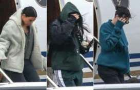Kim, Kourtney dan Kendall Terbang ke Cleveland Jenguk Khloé Kardashian