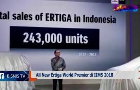 The All New Ertiga Jalani World Premier di IIMS 2018