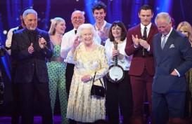Ratu Elizabeth Rayakan Ulang Tahun dengan Menonton Konser