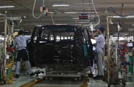 Meski Turun, Produksi Toyota Masih Terbanyak