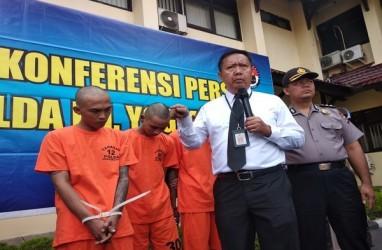Polda DIY Bekuk Perampok Minimarket, Ancam Karyawan Pakai Pedang