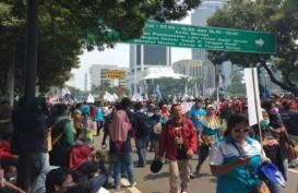 Polisi Siapkan Lapang Parkir SUGBK untuk Peserta Aksi Buruh May Day