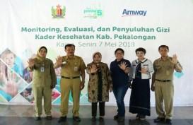 Pemkab Pekalongan dan Amway Bantu 500 Anak Gizi Kurang di Pekalongan