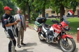 Berkendara dengan Motor ke London, Biker Indonesia…