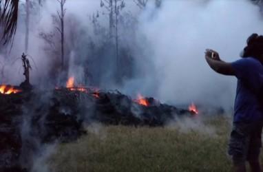 ERUPSI KILAUEA: Warga Hawaii Diingatkan Soal Peningkatan Kadar Gas SO2