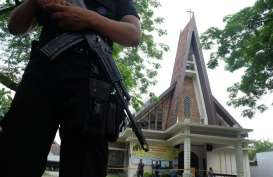 Polres Malang Kota Kerahkan Semua Personel Amankan Gereja
