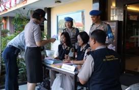 Polda Bali Sterilisasi Kawasan Depan Markas