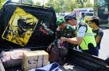 Petugas Security Tingkatkan Pengamanan di Bandara Ahmad Yani