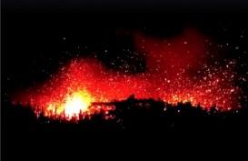 ERUPSI KILAUEA: Gunung Berapi Hawaii Muntahkan Abu Vulkanis