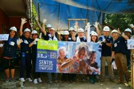 Relawan Duta Besar dan Habitat for Humanity Indonesia…