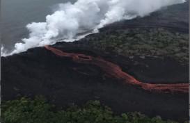 ERUPSI KILAUEA: Aliran Lava Dekati Area Pembangkit Listrik Tenaga Panas Bumi di Hawaii