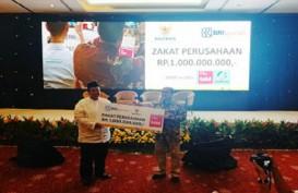 BRI Syariah Salurkan Zakat Perusahaan Rp1 milyar Lewat Baznas