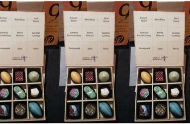 Ragam Nikmat Cokelat, Dari Rasa Kunyit Asam Sampai Sensasi Rasa Rendang