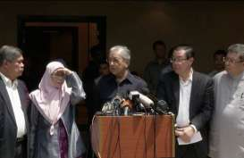 Mahathir Batalkan Proyek Kereta Api Cepat Malaysia-Singapura