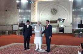 Presiden Jokowi dan PM Narendra Modi Kunjungi Mesjid Istiqlal