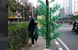 Pohon Imitasi, Kasudin PE DKI Akui Kurang Koordinasi
