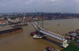 Jembatan Musi IV Beroperasi Juli 2018