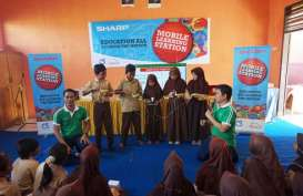 Sharp Electronics Indonesia Perkuat Program Mobile Learning Station