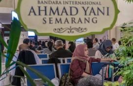 Penumpang Masih Mendatangi Bandara Lama Semarang