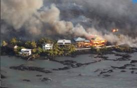 ERUPSI GUNUNG KILAUEA: Lava Rusak Sekitar 600 Rumah di Hawaii