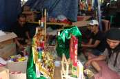 Penjual Parsel Cikini Kebanjiran Pesanan