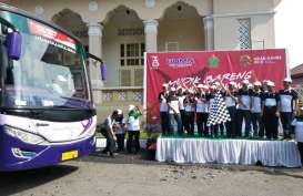 PTPN IV Berangkatkan 1.000 Pemudik dari Medan
