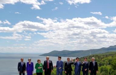 Trump Bikin Kacau KTT G7. Ancam Kenakan Tarif Otomotif. Gara-Gara Justin Trudeau?