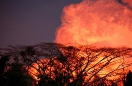 GUNUNG BERAPI HAWAII: Kilauea Batuk Lagi