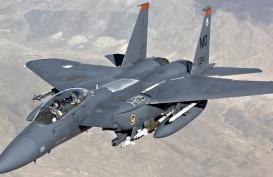 F-15 Amerika Serikat Jatuh di Okinawa