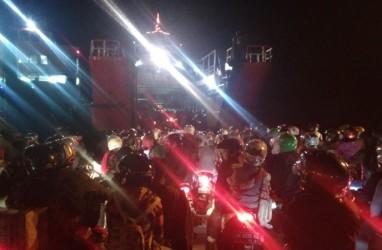 JELAJAH JAWA BALI 2018: H-2 Lebaran, Pemudik Roda Dua dari Bali ke Jawa Capai 15.492 Kendaraan