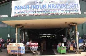 Pembeli Sepi Jelang Lebaran, Pedagang Pasar Kramat…