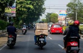 ARUS MUDIK: H-1, Lalu Lintas Sekitar Pasar Bantul Meningkat