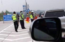 ARUS BALIK: Kendaraan Lewat Tol Cikopo Padat Merayap, Perhatikan Hal Ini