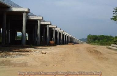 Tol Semarang - Batang diperkirakan Rampung Oktober 2018