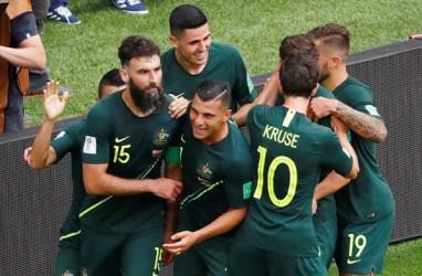 Hasil Piala Dunia 2018: Australia Imbangi Denmark Skor 1-1