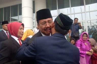 Gubernur Tengku Erry Nuradi Akhiri Masa Jabatan. Begini Keharuan yang Terekam