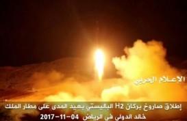 AU Arab Saudi Kembali Cegat Misil dari Yaman