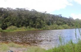 Naik Rakit, Seorang Pengunjung Danau Tambing Tenggelam