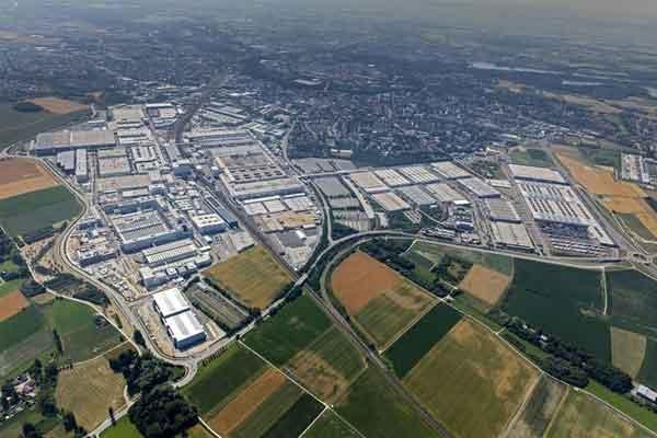 Pusat Audi di Ingolstadt. - Audi