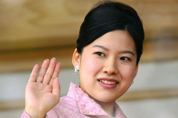 Putri Ayako dari Jepang. - Kyodo via Reuters